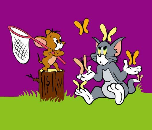 小班音乐游戏《猫和老鼠》