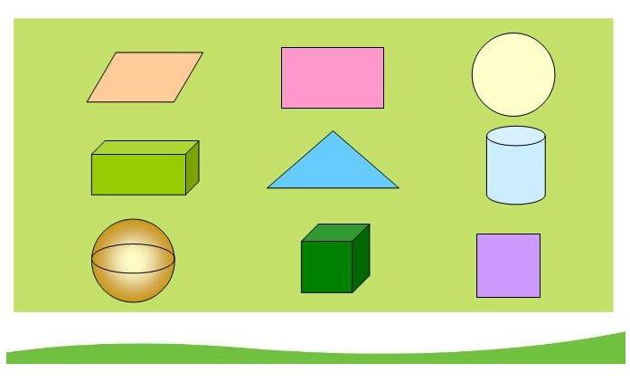 幼儿园小班科学领域:数学活动——图形分类