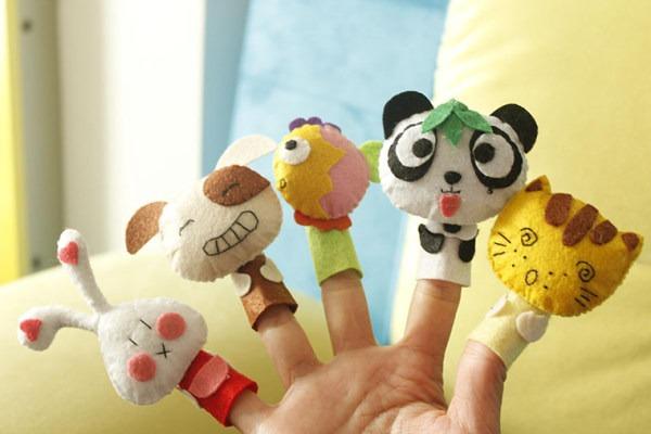 幼儿园中班语言优质课教案――手指编故事