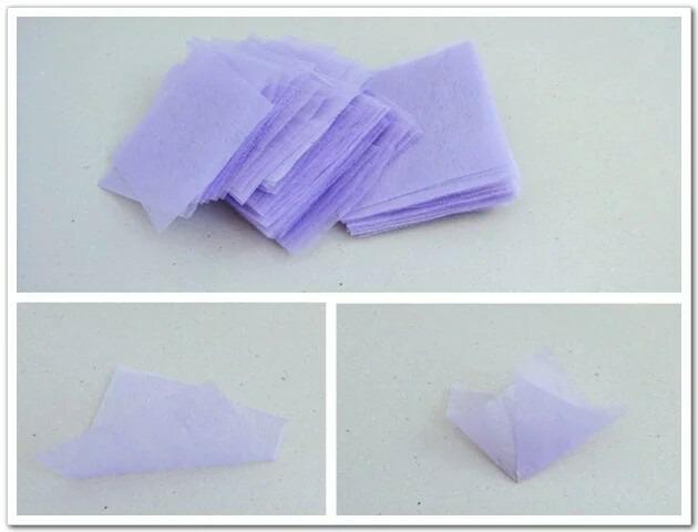 第一步: 1,把泡沫切成正方体.