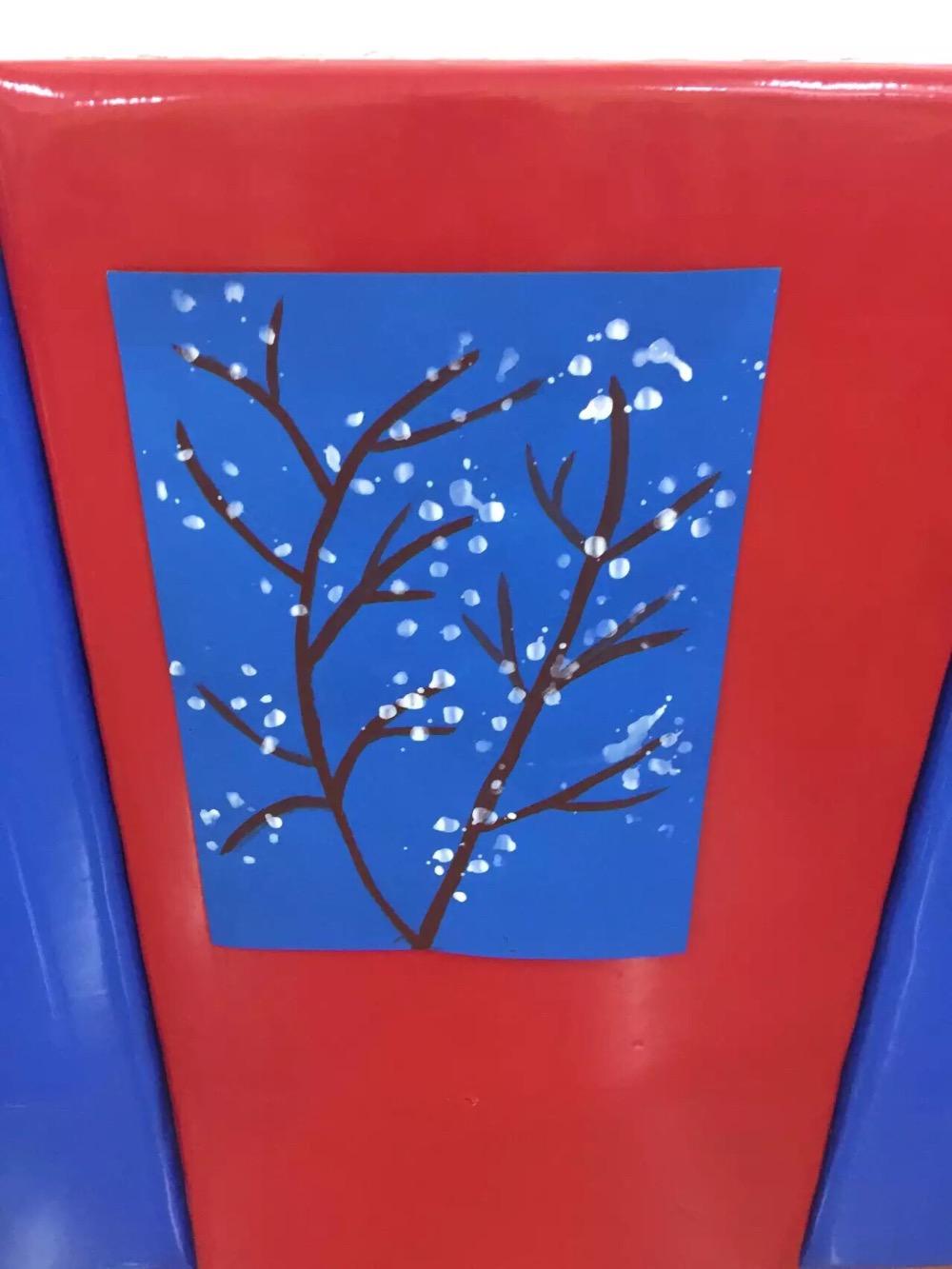 创意拓印画__幼儿园水粉水墨画绘画_幼儿园绘画_师乐汇