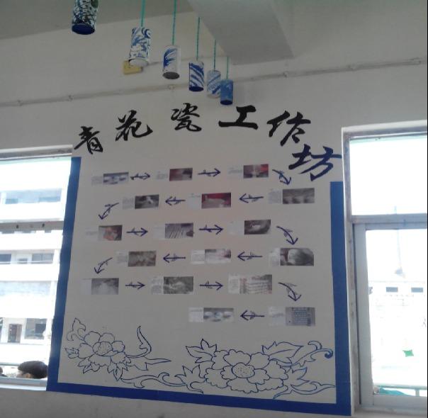 幼儿园环境创设:炫彩中国风-青花瓷