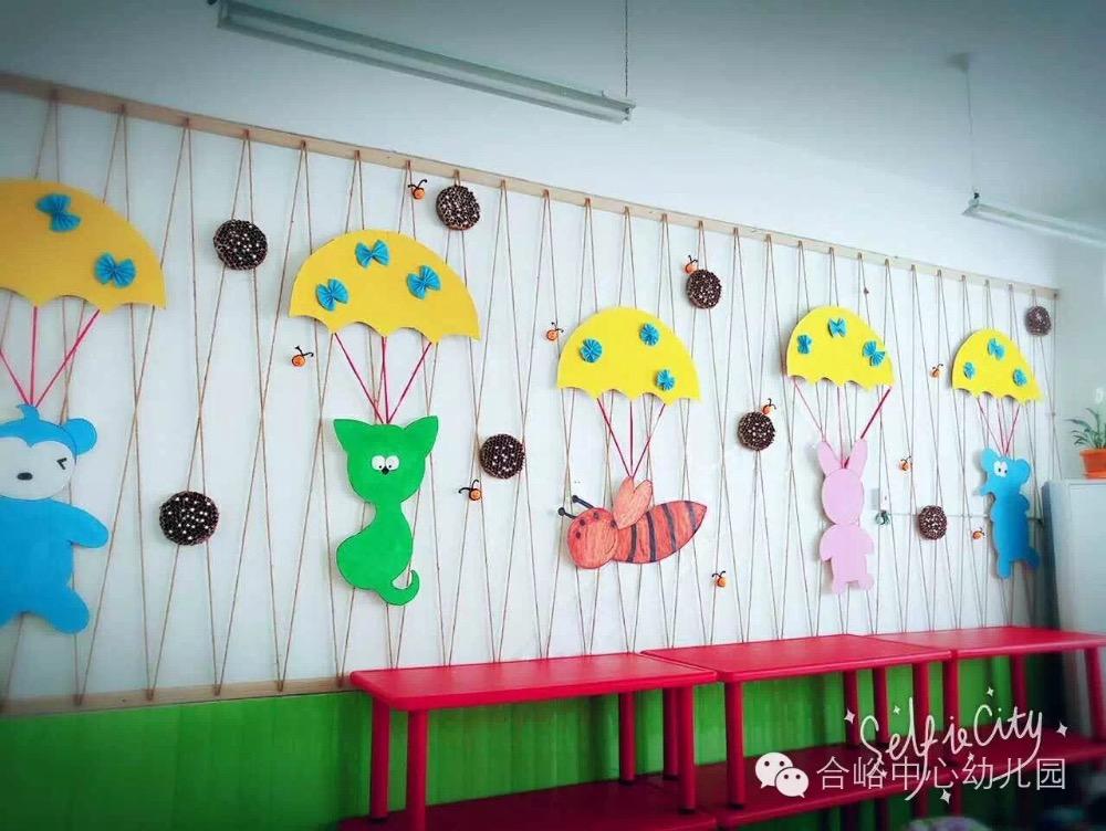 主题墙-幼儿园创意照片墙-幼儿园创意墙面装饰-幼儿园主题墙边框创意