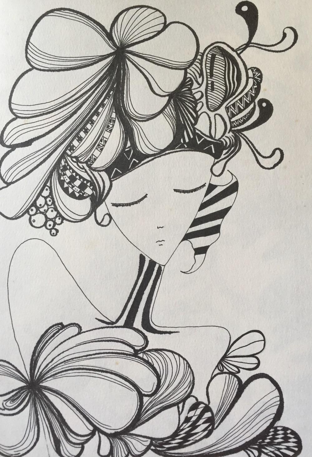 黑白世界——线描画