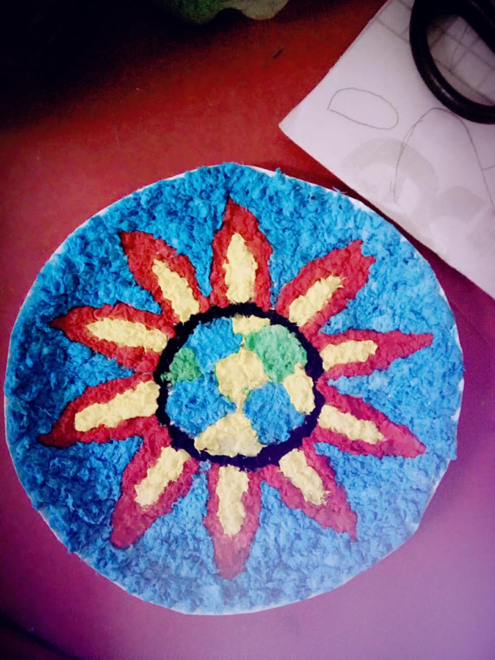 纸浆画的步骤